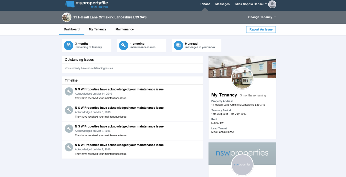 ONLINE TOOL FOR LANDLORDS MAKES IT EASIER TO MANAGE PROPERTY