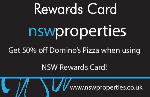 Discount's at Domino's pizza with the NSW Rewards Card!